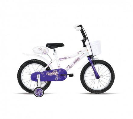 "Велосипед 14"" Sprint Ronny Violet,Fork,White"