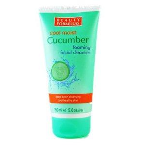Beauty Formulas Cool Moist Cucumber тонизираща гел-пяна за лице 150ml