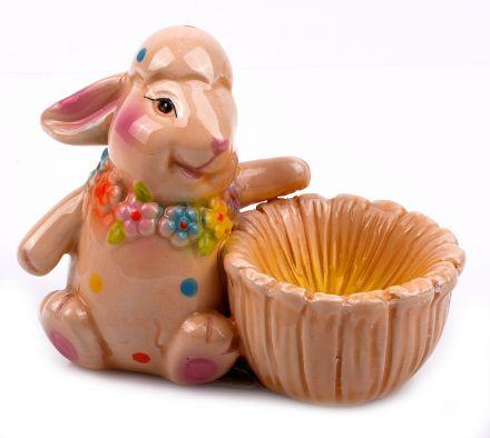 Великденска поставка за яйце Зайче-1-ца