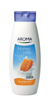 Aroma Fresh шампоан за тънка и слаба коса 400ml