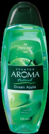 Aroma Natural шампоан с екстракт от зелена ябълка 500ml
