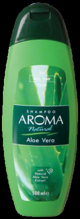 Aroma Natural шампоан с екстракт от алое вера 500ml