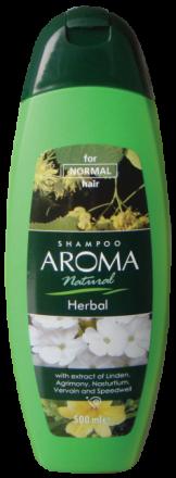 Aroma Natural шампоан с екстракт от липа и борово дърво 500ml
