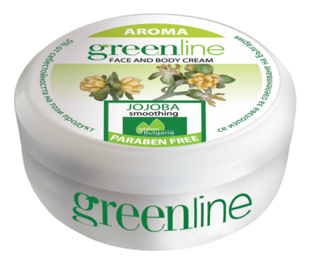 Aroma GreenLine универсален подхранващ крем с жожоба 145ml