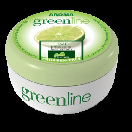 Aroma GreenLine защитен крем за лице с лимон 100ml