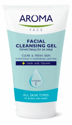 Aroma Face почистващ гел за лице 150ml
