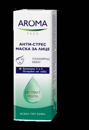 Aroma Face анти-стрес маска за лице с екстракт от мента 50ml