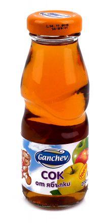 Ganchev-Сок отЯбълка  200ml, 3+
