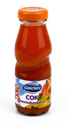 Ganchev-Сок Мултивитамин  200ml, 3+