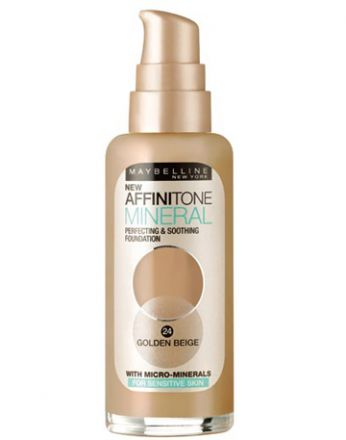 Maybelline AFFINITONE MINERAL фон дьо тен