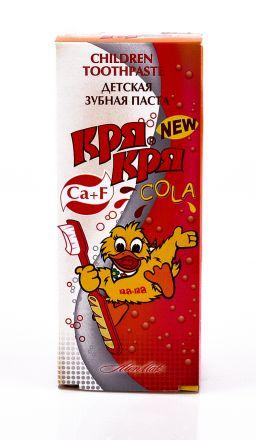 Кря-Кря COLA -Детска паста за зъби 50ml ,от 3 до 12 год.