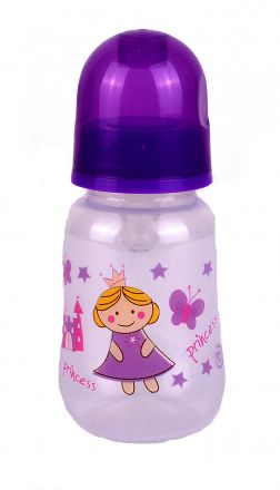 Baby Care-Шише за хранене Princess-125ml ,0+