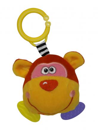 "Loreli Toys-Гризалка-Дрънкалка""Маймунка"""