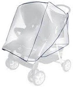 Loreli-Дъждобран за количка за близнаци