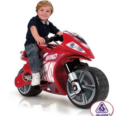 Moni-Акумулаторен мотори Injusa Motorbike Wind 646