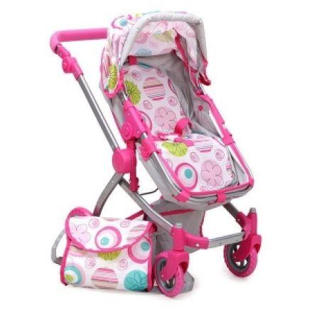 MONI-Количка за кукли Pink Rose 9651B