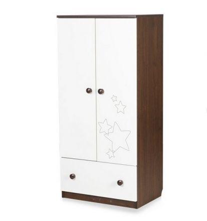 Chipolino - Дървен гардероб със Звезди