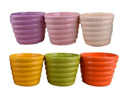 Кашпа едноцветна керамика