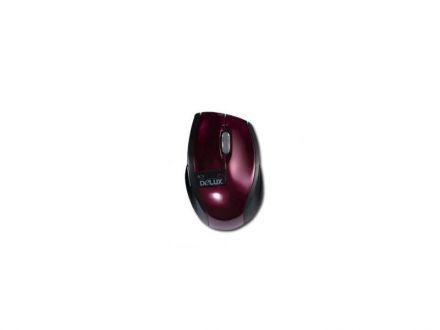 """Мишка Delux """"DLM-526GB+G01UF Бордо"""""""