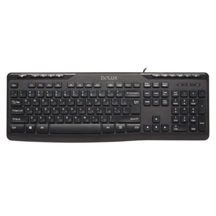 Клавиатура Delux DLK-OM06U USB