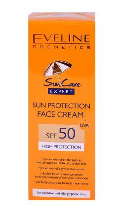 EVELINE Слънцезащитен крем за лице F50 50 мл.
