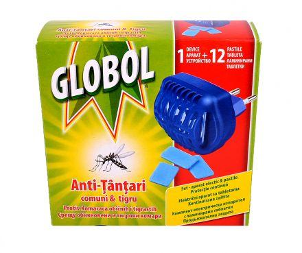 Globol-Ел.изпарител+ламинирани таблетки 12бр,