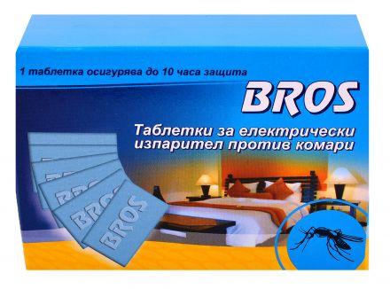 BROS-Таблетки за електрически изпарител против комари ,20бр