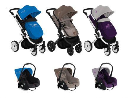 Детска количка LUNA 3in1
