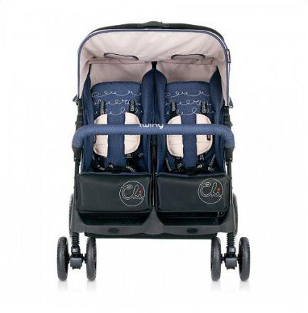 Chipolino-Twiny 2014 Детска количка за близнаци