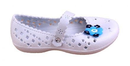 Mat Star Flip-детски гумени сандалки CPA 012/013 White  25/30