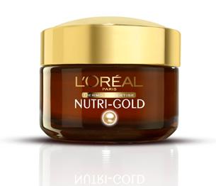 Loreal NUTRI GOLD околоочен крем за лице 50ml