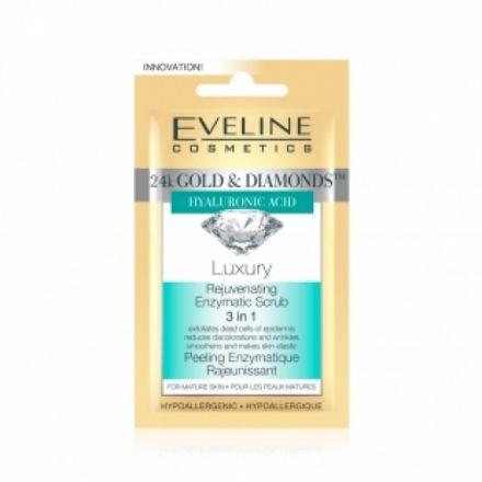 Eveline Gold&Diamonds маска за лице 7ml